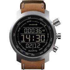 Orologi da polso digitale con cinturino in pelle con altimetro