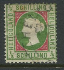 Heligoland QV 1869 1/2 schilling CDS used