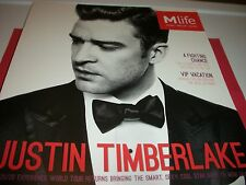 Justin Timberlake Cover Of M Life Las Vegas Magazine