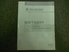 1996 1997 Suzuki Esteem Electrical Wiring Diagram Shop Manual FACTORY OEM 96 97