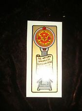 WATLING EARLY ANTIQUE SCALE SLOT MACHINE DECAL WATLING SCALE DECAL S-12