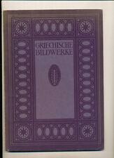 Blauen Bücher griechische Bildwerke 1922 Max Sauerlandt Skulpturen Fries Bronzen