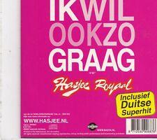 Hasjee Royaal-Ik Wil Ook Zo Graag cd single