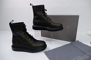 Alexander McQueen Sneaker Boots, Uk 4 Eu37 Olive Green & Black, NEW