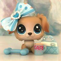RARE Littlest Pet Shop AUSTIN GOLDENPUP Retriever Dog #2-93 LPS Lot OOP VHTF