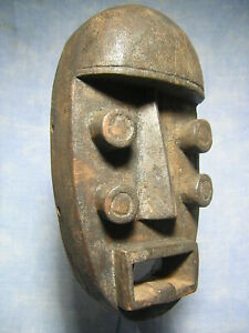MASQUE GREBO ART AFRICAIN ANCIEN STATUE AFRICAINE VINTAGE AFRICAN MASK AFRIQUE