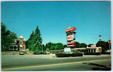 QUINCY, Massachusetts  MA    Roadside  PRESIDENTS' CITY MOTEL  c1970s  Postcard