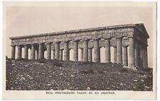 Kodak Advertising Postcard For No 3A Folding Pocket Kodak, Shows Roman Temple