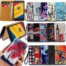For Motorola Moto E E3 E4 E5 E6 Flip Leather Card Wallet Stand Cover Phone Case