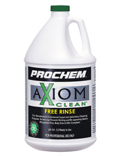 Carpet Cleaning Green Cleaning Prochem Axiom Free Rinse