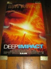 DEEP IMPACT  Original  Poster 27 X 40, DOUBLE SIDED ADVANCE GLOSSY
