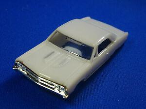 New 1967 White Chevelle MoDEL MoToRING T-jet HO Scale Slot Car Body Aurora RRR