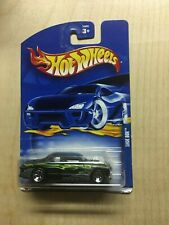 one RARE blue CARD 2002 NO.180 NEW black SHOE BOX by HOT WHEELS 1:64