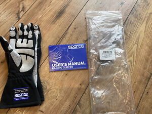 Sparco Black Racing Gloves, Brand New