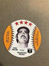 STEVE CARLTON 1977 ZIP'Z DISC CARD