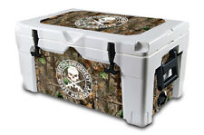 Thickest Wrap 24mil Skin L+I for IGLOO Sportsman 70qt Cooler 2nd Amend WDlnd Cam