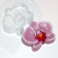 """Orchid"" flower plastic soap mold soap making mold mould"