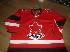 TA Shirt Jersey Trikot Hockey ice Canada Nike 2000 years IIHF