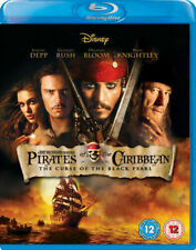 Pirates of the Caribbean The Curse of the Black Pearl [Blu-ray] NEW Disney