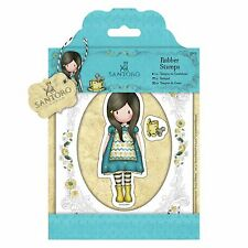 THE LITTLE FRIEND - Santoro Gorjuss - Urban Rubber Stamp Set