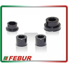 FEBUR YAMAHA R3 FRONT REAR CAPTIVE WHEEL SPACER BUSHING SPACER KIT 2015 TO 2019