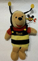 Disney Valentine's Day Bumble Bee Winnie the Pooh Mini Bean Bag NWT Mousketoys