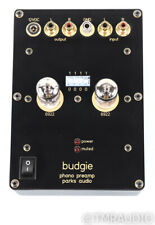 Parks Audio Budgie MM Tube Phono Preamplifier; NOS Tubes