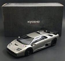2000 Lamborghini Diablo GTR Silver 1/18 KSR18509S KYOSHO 1 Of 500
