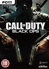 Call of Duty Black Ops PC New and Sealed