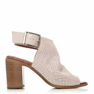 Womens Moda In Pelle Lilaine Leather Ankle Strap Sandals