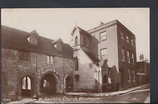 Hampshire Postcard - St Swithins Church, Winchester    RS5609