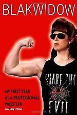 BLAKWIDOW. Amanda Storm. Wrestler. Wrestling. Black Widow.