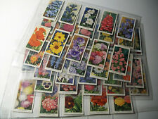 Garden Flowers FULL SET Wills 50 x cigarette cards Sweet Pea Lupin Iceland Poppy