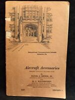 Aircraft Accessories Home Study Book WWII 1944 Edition Brimm Jr & Wintersteen