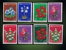 1964  NORTH YEMEN FLOWERS CRINUM PEPPERMINTPOINSETTIA