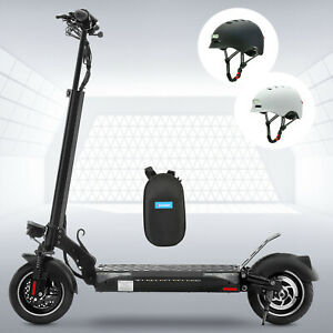 """10""""600W 48V 13AH LITHIUM POWERED ADULT Commuter Foldable ELECTRIC SCOOTER-30MPH"""