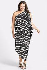 City Chic One-Shoulder Dress (Plus Size) (size L= 20W)