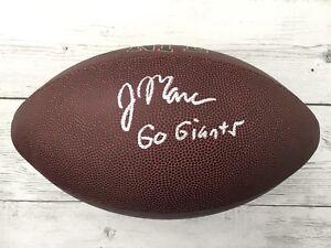 John Mara Signed Official Size NFL Wilson Football NY Giants BECKETT BAS COA a