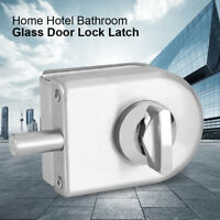 10~12mm Stainless Steel Glass Frameless Single Door Lock Latch Rotary Knob Home