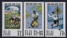 1993 FIJI HONG KONG RUGBY SEVENS SET OF 3 FINE MINT MNH/MUH
