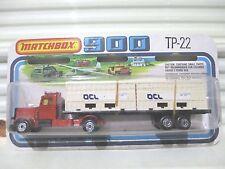 Lesney Matchbox 1979 OCL LONG HAUL BRONZE CAB 2 Container TwinPack TP22A MintBxd