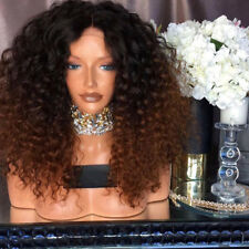 Fashion Women Kinky Curly Wigs Fluffy Afro Wig Synthetic Wavy Hair Wig Party Bob