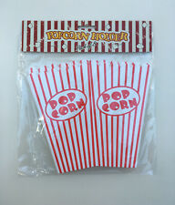 Popcorn Holder Boxes Pack of 8 Brand New in Packaging