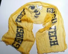"Mascot Wear Georgia Tech Yellow Jackets  Scarf ""Buzz"" Mascot"