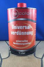 Universalverdünnung Lackverdünner Univerdünner Univerdünnung recolor 1Liter