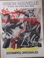 DALI Affiche lithographie Vision Nouvelle Hommage à Albrecht Durer Mourlot 1971