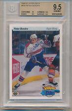 1990 Upper Deck Peter Bondra (Rookie Card) (#536) (10 Centering/3-9.5's) BGS9.5