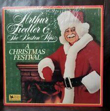 Arthur Fiedler & The Boston Pops A Christmas Festival Christmas Music Vinyl Lp