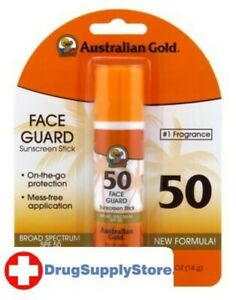 BL Australian Gold Spf# 50 Face Guard Stick 0.6 oz - Two PACK