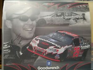 Kevin Harvick #29 Goodwrench / RCR   Postcard autographed from the 2004 season